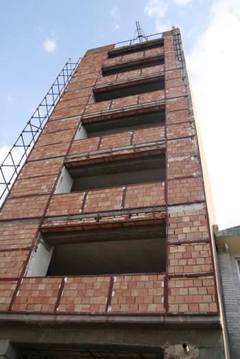 نمای فعلی ساختمان